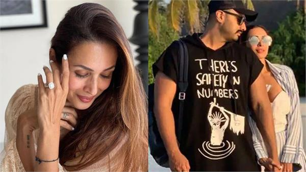malaika arora proposes to arjun kapoor picture shared with the ring