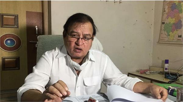 senior chhattisgarh health officer dies of covid
