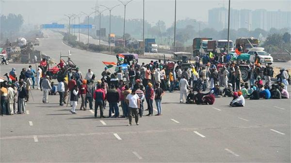 farmers blocked the kmp expressway