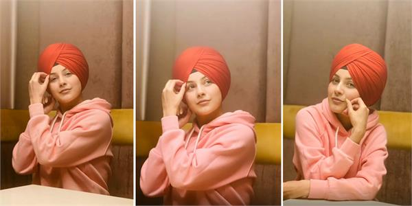 shehnaaz gill viral pictures in turban
