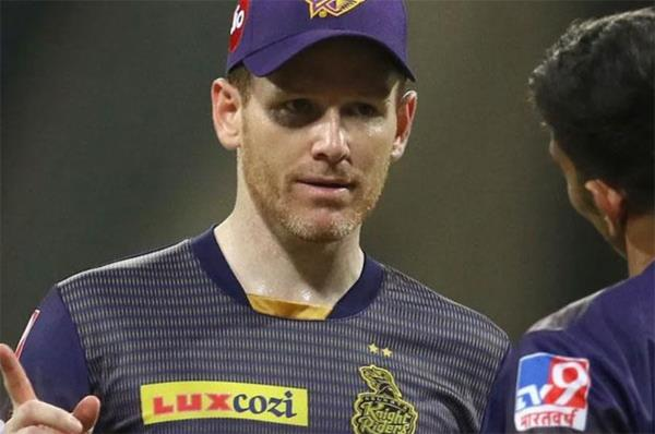 another setback for captain eoin morgan after kkr lost the match