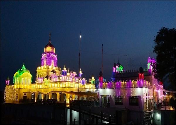 historical gurdwara pul pukhta sahib baisakhi jodh mela tanda uramar