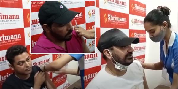 punjabi singers took first dose of corona vaccine