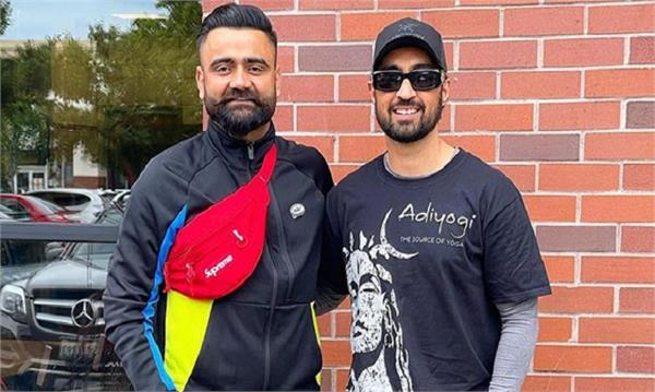 amrit maan   diljit dosanjh shared pictures together
