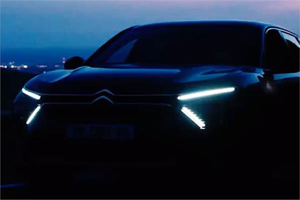 2022 citroen c5 sedan teaser video released