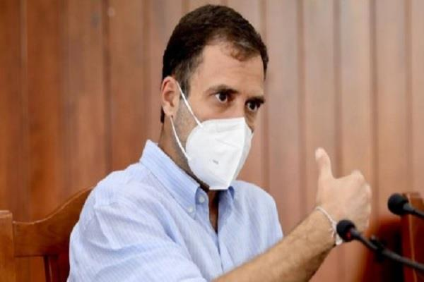 rahul gandhi modi government oxygen icu bed hospital tweet