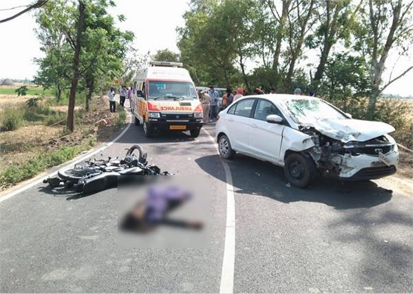 road accidents  father son  death  bassi pathana