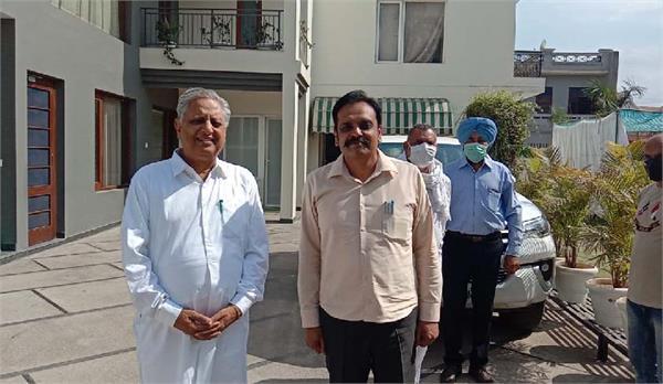 ig kunwar vijay partap singh meeting speaker rana kp singh