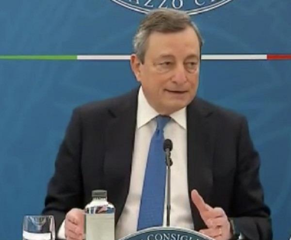 italy  mario draghi  covid 19 banned