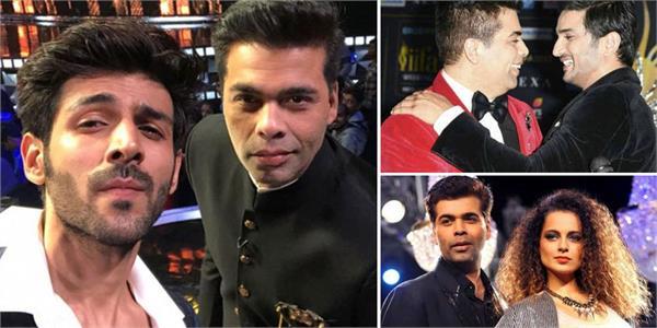 karan johar controversies with bollywood celebs