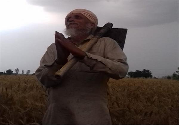 winds rains disturbances farmers crops bad