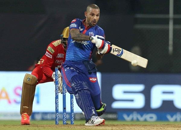delhi capitals  point table  shikhar dhawan  ipl 2021