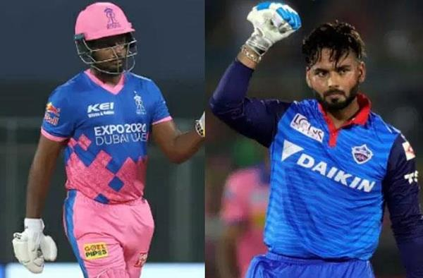 rr vs dc  two new captains pant and sanju samson to clash today