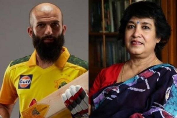 taslima nasreen moin ali objectionable tweet joffra archer