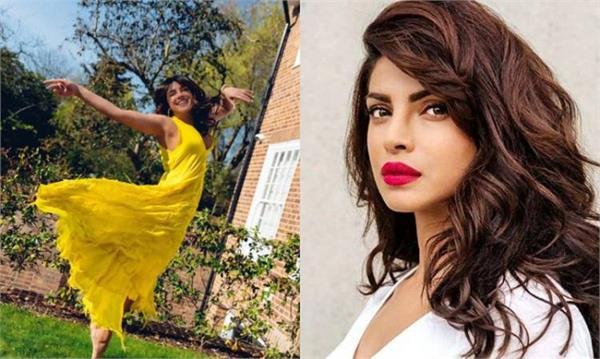 priyanka chopra wears costly yellow dress pictures on
