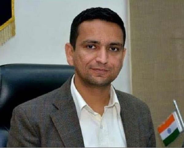 deputy commissioner  ghansham thori  smart village scheme