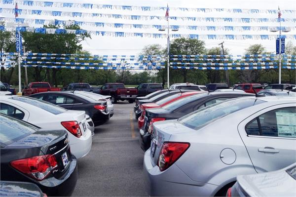 sale of used car tribled