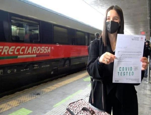 italy covid free train
