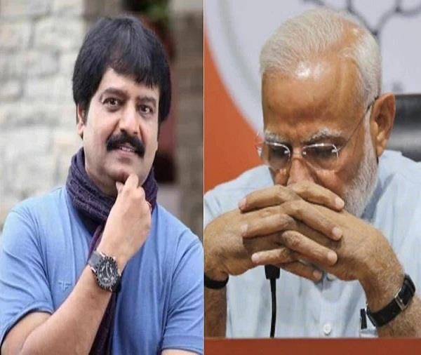p m  modi mourns actor vivek  s death