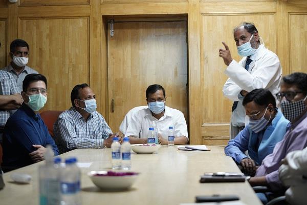delhi lockdown arvind kejriwal coronavirus