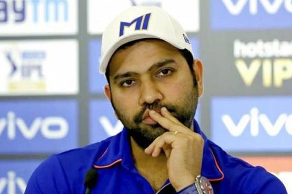 after the loss to delhi  rohit sharma suffered another