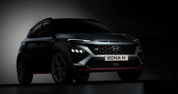 2021 hyundai kona n to be the brands first performance suv
