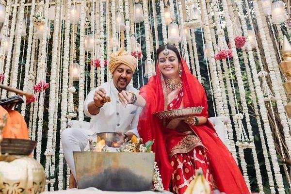 diya mirza made special preparations for the wedding