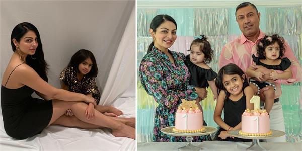 neeru bajwa viral post on daughters
