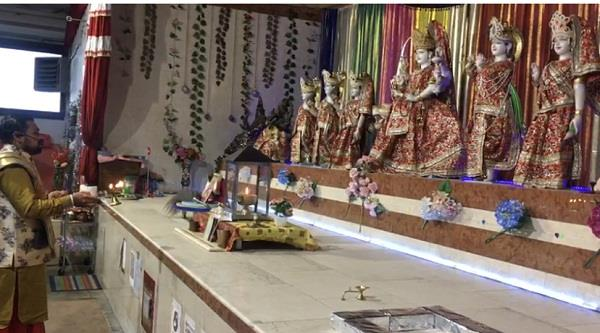 italy  hari om temple  chaitra navratri