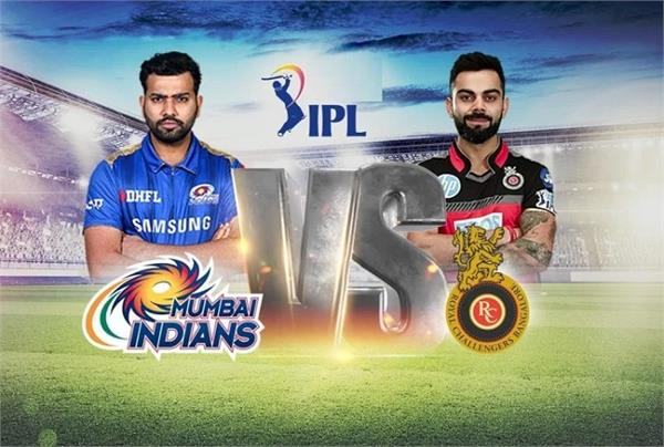 ipl 2021 mumbai indians royal challengers bangalore