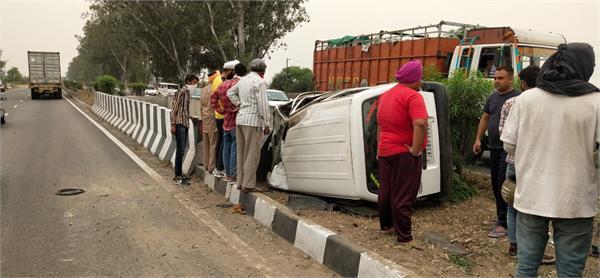 road accident jalandhar pathankot highway