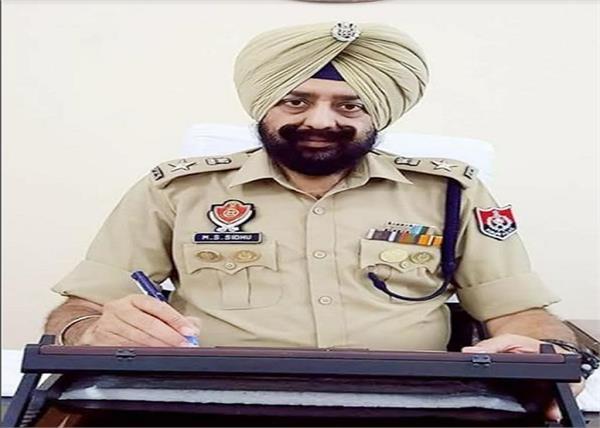 punjab police  police officer  mandeep singh sidhu  ips  sherpur
