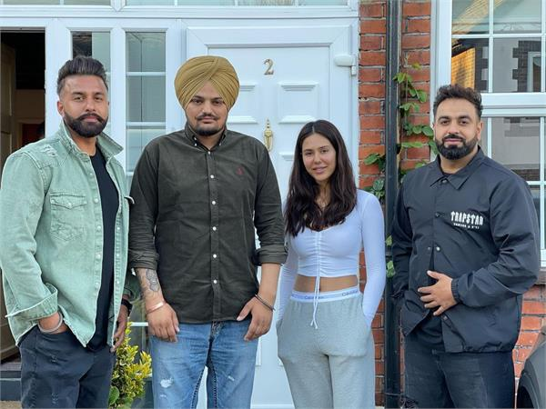 sonam bajwa may appear in sidhu musewala s song pictures go viral