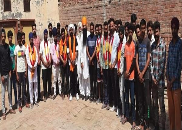 ajnala  young people justice party  involved