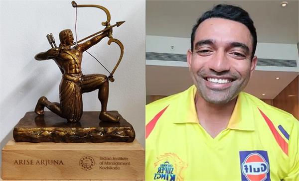 uthappa  iim kozhikode  national excellence award