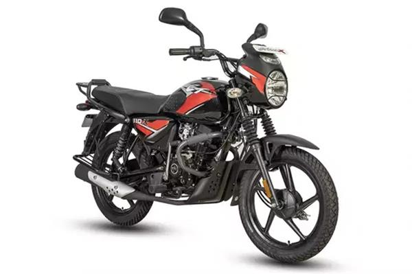 bajaj ct 110 x launched in india