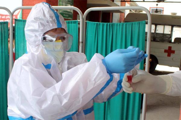 corona infected child pims hospital