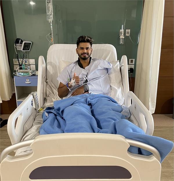 shreyas iyer  shoulder  successful operation