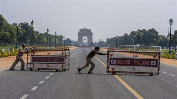 delhi in lockdown