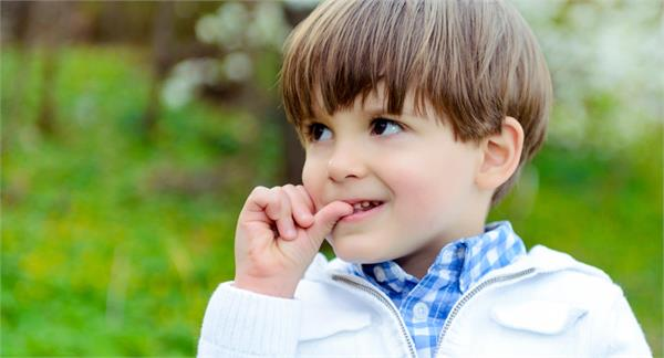 kids have a habit of biting their nails so be use these tips