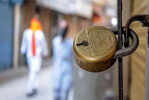 complete lockdown imposed in raipur