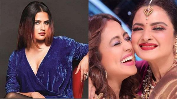 sona mohapatra says rekha gave boost to   sad   indian idol