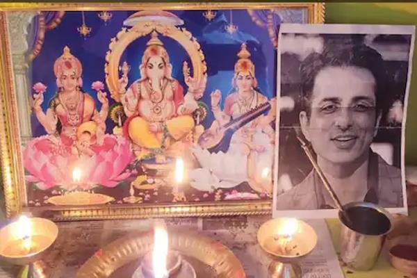 fan prayers for sonu sood health