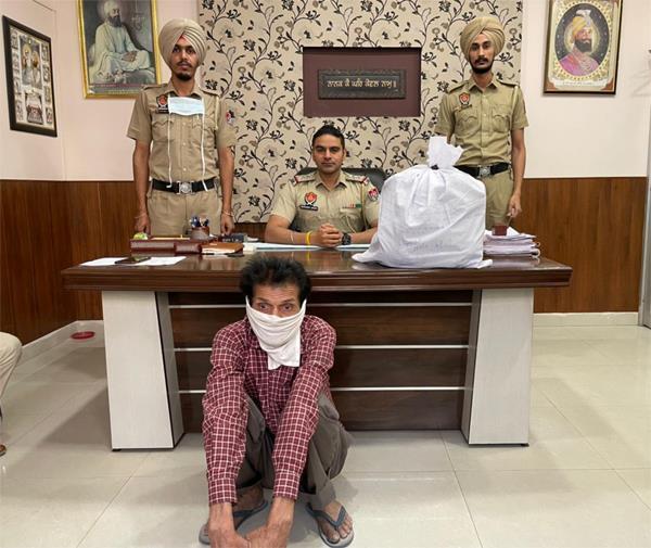 dismissed punjab police constable arrested with 23 100 drug pills