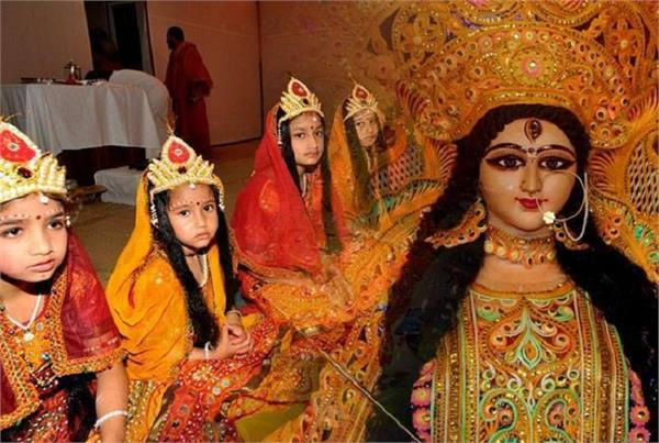 chaitra navratri 2021 navratri kanya pujan significance