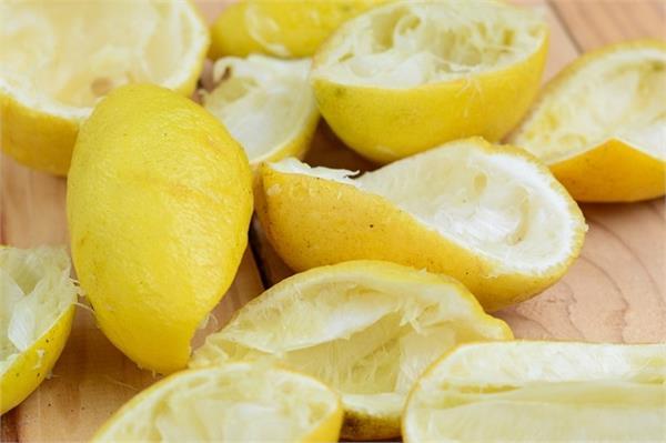 lemon peel bones strong skin problems benefits
