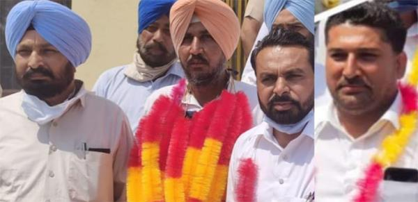 due to congress factionalism  independent councilor sukhpal singh