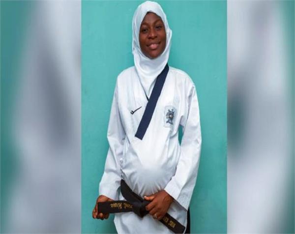 taekwondo  pregnant women  aminat idrees  gold medal