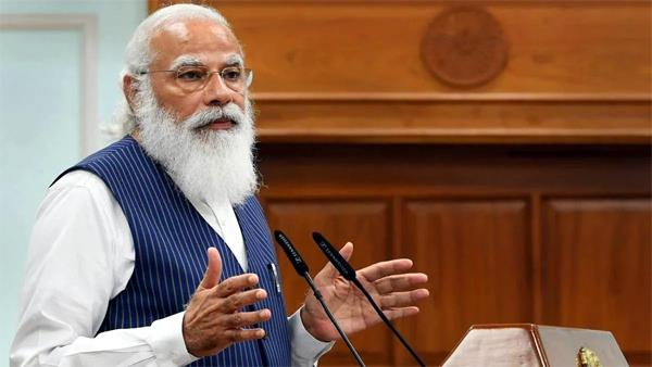 pm modi s meeting with chief ministers continues at corona
