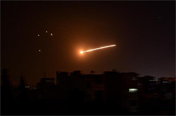 israel missile attack on syria